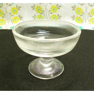 昭和レトロ ガラス 氷コップ