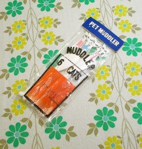 レトロプラスチック ペットマドラー ネコ 6本セット
