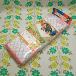 レトロポップ 花柄 ポータブルプレスマット
