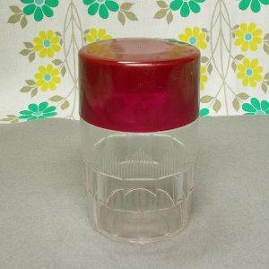 レトロプラスチック ティーポット 茶筒
