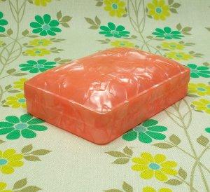 昭和レトロ セルロイド ミニケース ピンク
