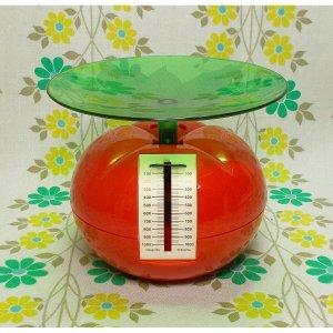 レトロポップ キッチンスケール 1kg トマト