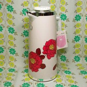 レトロポップ 薔薇花柄 魔法瓶ポット 1.9L ローゼット
