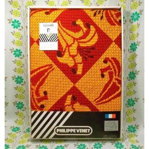レトロポップ こたつ布団カバー ユリの花柄