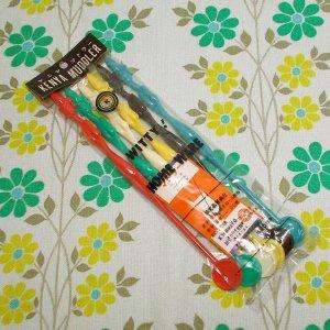 レトロプラスチック ケニヤマドラー 6本セット