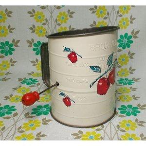 USAビンテージ BROMWELL'S リンゴ柄 ハンドシフター