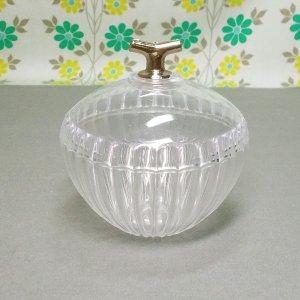 レトロプラスチック ボンボンケース小 クリア