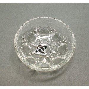 レトロポップ プレスガラス クリアガラス 豆鉢