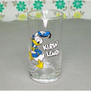 昭和レトロ キリンレモン ドナルドダック グラス