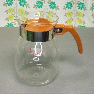 レトロモダン 耐熱ガラス ティーポット