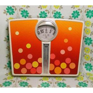 レトロポップ タニタ 水玉柄  体重計