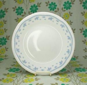 Corelle モーニングブルー 小皿 φ17cm