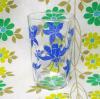レトログラス 青花柄