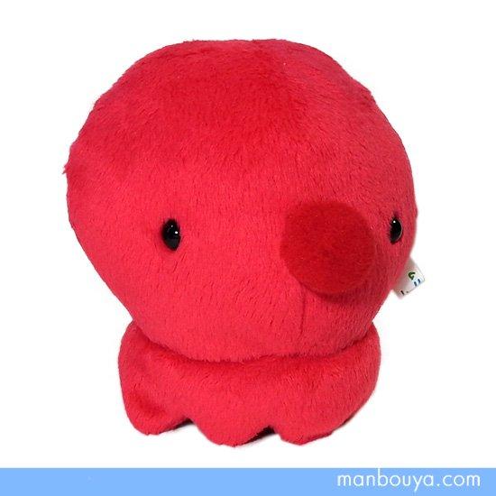 【タコグッズ】ぬいぐるみ◆かわいい手のひらサイズ◆A-SHOW(栄商)◆ムニュマムMサイズ◆蛸9cm