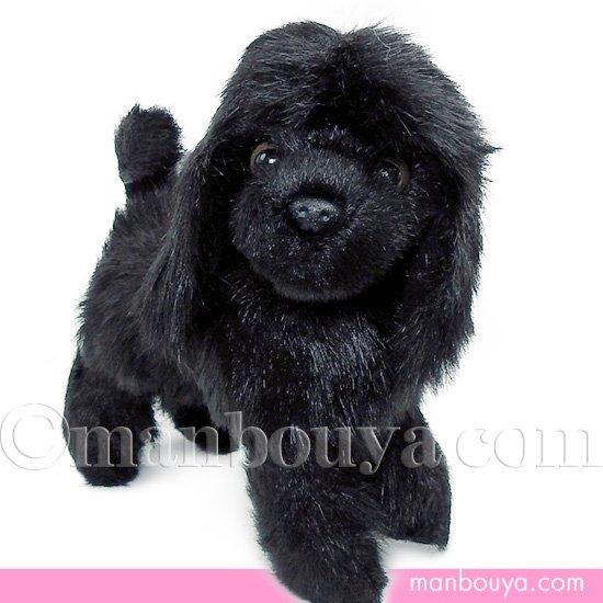 【犬のぬいぐるみ】プードルグッズ/雑貨◆A-SHOW(栄商)◆コンチネンタルクリップ トイプードル◆ブラック20cm