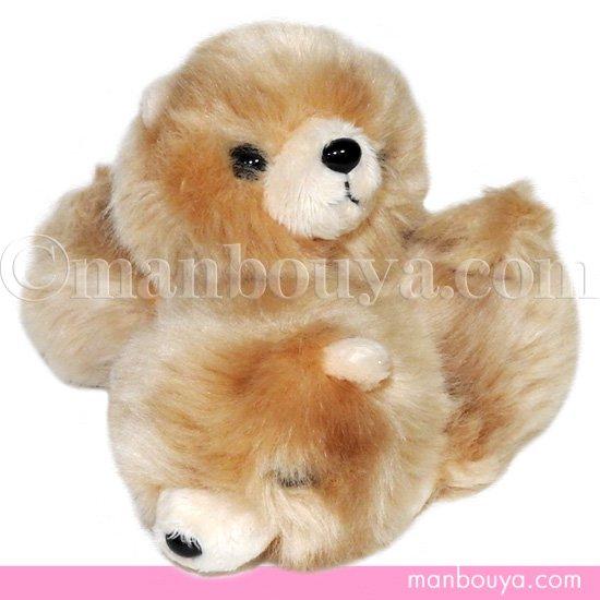 【犬のぬいぐるみ】ポメラニアン◆グッズ/雑貨◆A-SHOW◆Little Beans(リトルビーンズ)◆ポメラニアン ブラウン 12cm