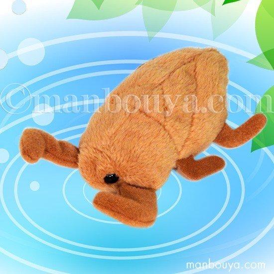 【タガメのぬいぐるみ】水生昆虫◆グッズ/雑貨◆A-SHOW◆Little Beans(リトルビーンズ)◆タガメ10cm