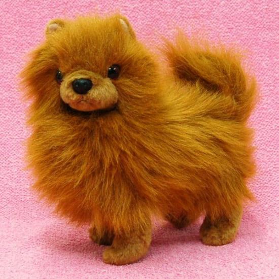 【犬のぬいぐるみ】ポメラニアングッズ/雑貨◆A-SHOW(栄商)◆ポメラニアン19cm
