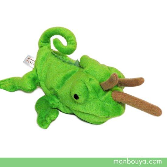 【カメレオンのぬいぐるみ】トカゲ・爬虫類◆グッズ/雑貨◆A-SHOW◆Little Beans(リトルビーンズ)◆ジャクソンカメレオン13cm