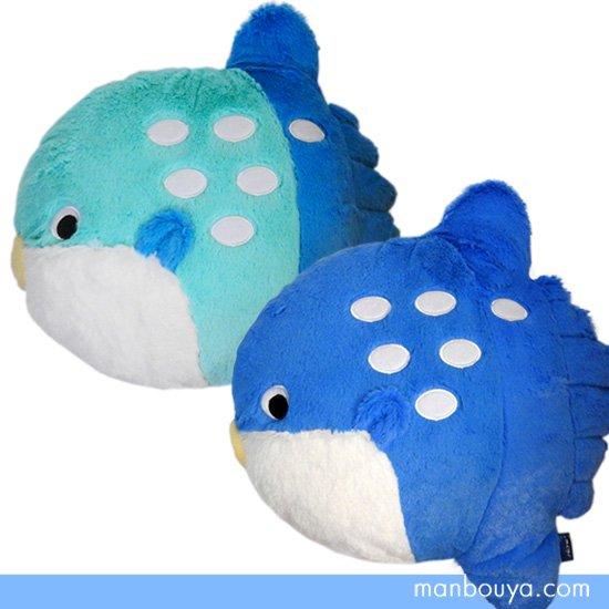 【マンボウのぬいぐるみクッション】水族館グッズ/雑貨◆A-SHOW(栄商)◆ふかふかまんぼう35cm