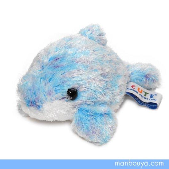 【イルカのぬいぐるみ】キュート販売◆CUTE marine collection◆アストラドルフィンブルーSSサイズ16cm