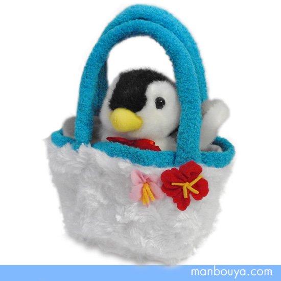 【ペンギンのぬいぐるみ】キュート販売◆CUTE marine collection◆お出かけシリーズ◆ペンギン16cm