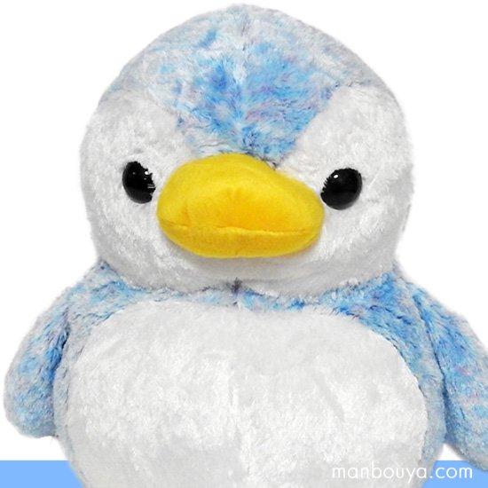 【ペンギンのぬいぐるみ】キュート販売◆CUTE marine collection◆アストラペンギン ブルーLLサイズ40cm