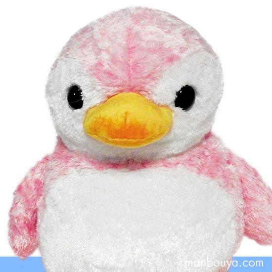 【ペンギンのぬいぐるみ】キュート販売◆CUTE marine collection◆アストラペンギン ピンクLLサイズ40cm