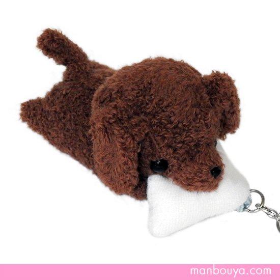 【犬のぬいぐるみ】グッズ・雑貨◆A-SHOW(栄商)◆ぱっくんクラブ携帯ストラップ◆ダックスフント8cm