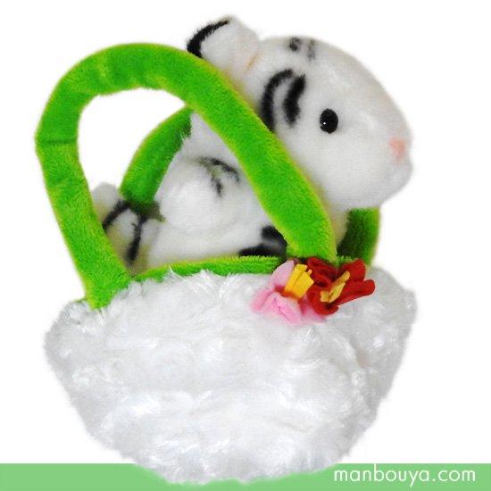 【ぬいぐるみ】ホワイトタイガー◆キュート販売◆CUTE safari collection◆お出かけシリーズ◆ホワイトタイガー12cm