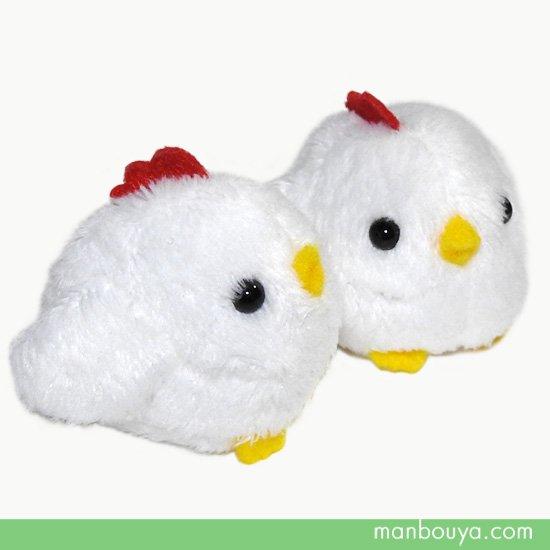 【ニワトリ】ぬいぐるみ◆鶏グッズ/雑貨◆A-SHOW◆ムニュマムお手玉◆にわとり4cm