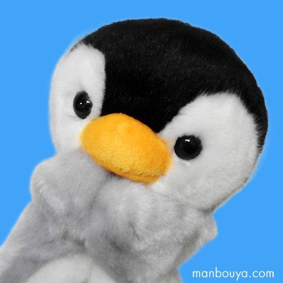 【ハンドパペット】ぬいぐるみペンギン◆キュート販売◆パペットコレクション◆ペンギンブラック20cm