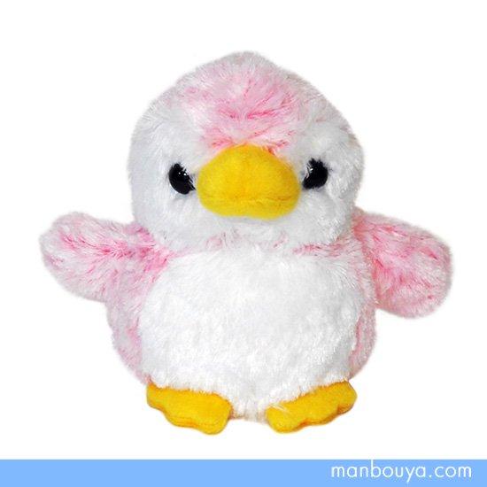 【ペンギンのぬいぐるみ】キュート販売◆CUTE marine collection◆アストラペンギン ピンクSSサイズ13cm