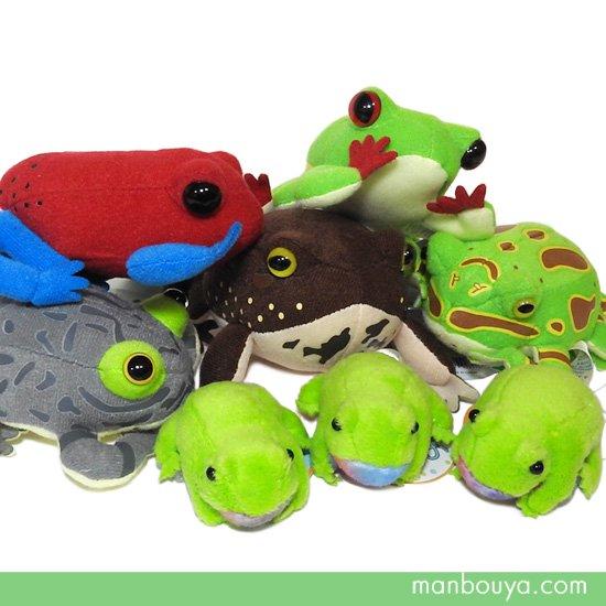 10%OFF カエル ぬいぐるみ グッズ 雑貨 A-SHOW マグネット入りマスコット&ちびだま蛙セット