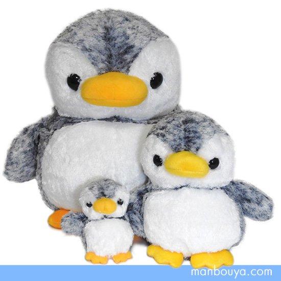 10%OFF ペンギン ぬいぐるみ キュート販売 CUTE marine collection アストラペンギン グレー3サイズセット
