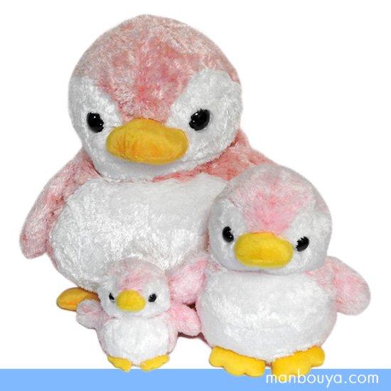 10%OFF ペンギン ぬいぐるみ キュート販売 CUTE marine collection アストラペンギン ピンク3サイズセット