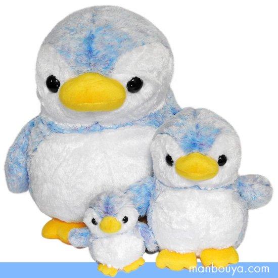 10%OFF ペンギン ぬいぐるみ キュート販売 CUTE marine collection アストラペンギン ブルー3サイズセット