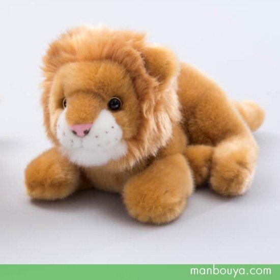 【動物園ぬいぐるみ】ライオン◆キュート販売◆CUTE safari collection◆ライオン這い S 26cm