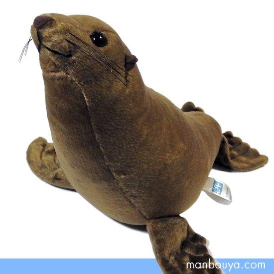 アシカのぬいぐるみ 水族館グッズ 海獣 海の動物 A-SHOW(栄商)アシカ Mサイズ 33cm
