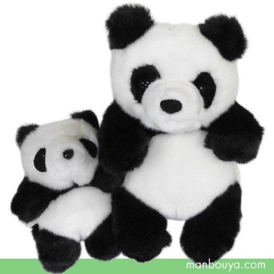 パンダ ぬいぐるみ 動物園 CUTE キュート販売 お座りパンダ S・SSセット