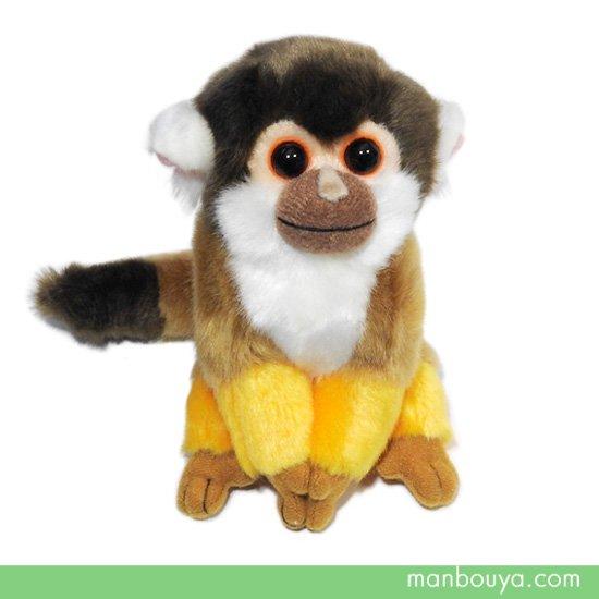 【動物園ぬいぐるみ】リスザル◆キュート販売◆CUTE safari collection◆リスザル S 13cm