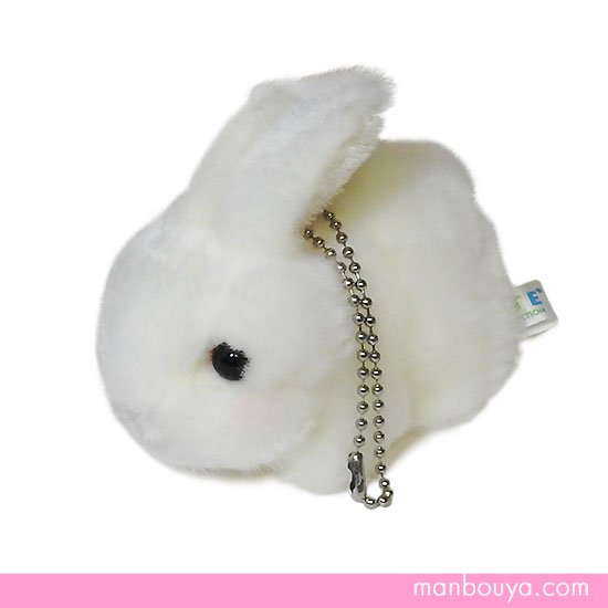 ぬいぐるみ うさぎ かわいい 動物 キュート販売 cute farm collection ウサギマスコットBC ホワイト 9cm