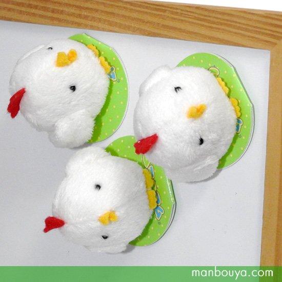 ニワトリ ぬいぐるみ 鶏グッズ 雑貨 A-SHOW(栄商)ムニュマムマグネット にわとり 5cm