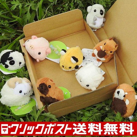 動物園 雑貨 ぬいぐるみ セット A-SHOW ムニュマムお手玉 箱詰めセット リトルアニマル 9個