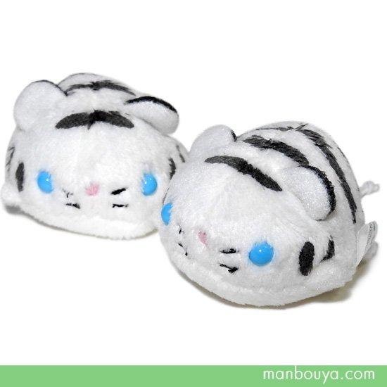 動物 トラ ぬいぐるみ ホワイトタイガー 動物園 A-SHOW ムニュマムお手玉 ホワイトタイガー 4.5cm