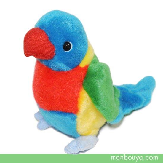 小鳥 ぬいぐるみ インコ 雑貨 キュート販売 CUTE safari collection ゴシキセイガイインコ S 16cm