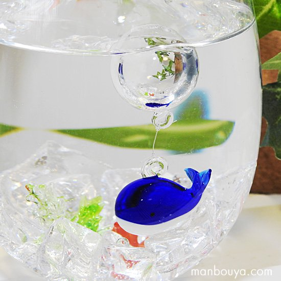 クジラ 雑貨 インテリア 水族館グッズ フロート 浮き玉 ガラス細工 海 浮き球 くじら