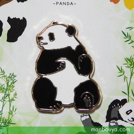 パンダ グッズ  雑貨 ピンバッジ 動物 アクセサリー かなる アニマルフレンズ ピンズ パンダ