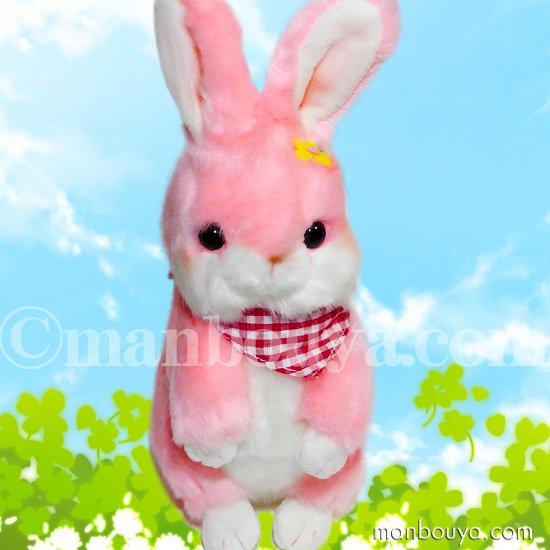 ぬいぐるみ うさぎ ピンク 北海道キャラクター コロコロコロルくんシリーズ 桃色ウサギ ミミーちゃん 24cm
