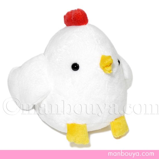 ニワトリ ぬいぐるみ 鶏グッズ 雑貨 A-SHOW(栄商)ムニュマムMサイズ にわとり 12cm